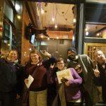 Team Neverwhere Underwear has fun at our November Crawl!
